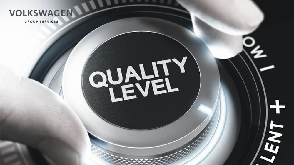 Quality system managment pre Volkswagen Gropu Services