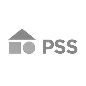 pss logo aspecta bw