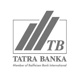tatrabanka logo aspecta bw